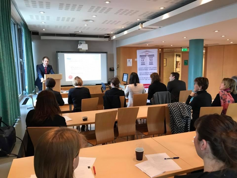 "Workshop on "" Crime control and punishment – Georgian and Norwegian perspectives "" (ka)"
