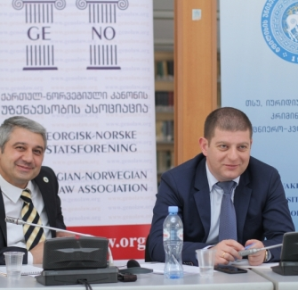 Seminar On  Crime control and punishment Georgian and Norwegian perspectives