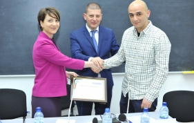 Nomination of  the winner of the annual written competition on rule of law